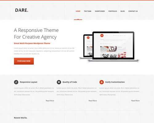 Swift WordPress Theme