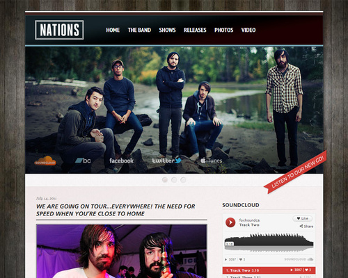 Band WordPress Theme