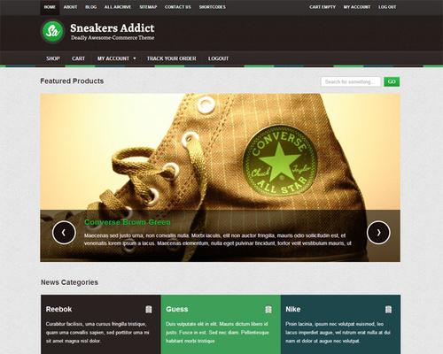 WordPress Online Store Theme