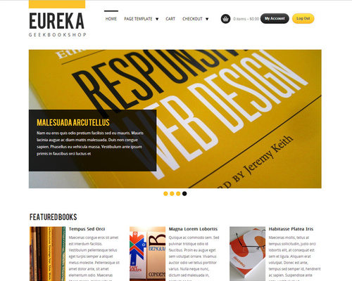 WordPress Bookstore Theme