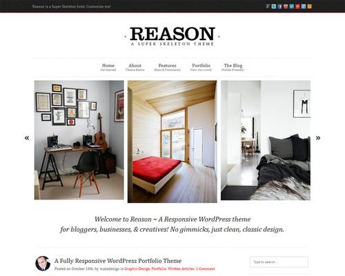 Skeleton WordPress Theme