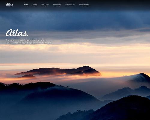 WordPress Photography Template