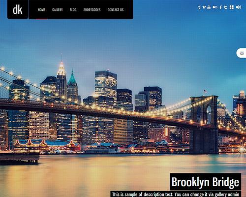 WordPress Fullscreen Theme