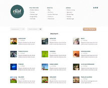 Elegant WordPress Directory Theme