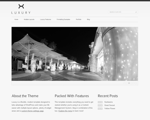 Minimal Design WordPress Theme