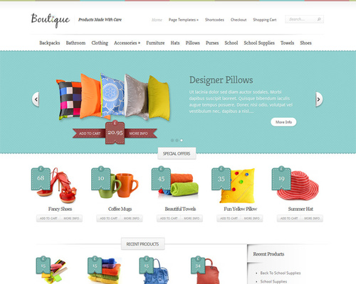 Crafty WordPress eCommerce Theme