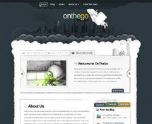 Hand-Drawn WordPress Theme