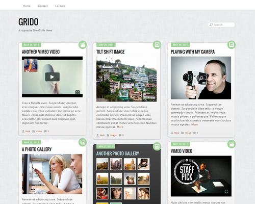 Grid Style WordPress Theme