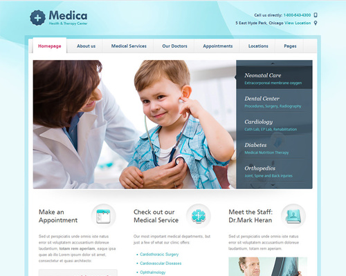 WordPress Medical Theme