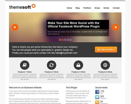 WordPress Theme for Portfolio