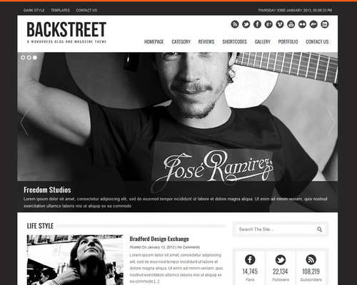 Urban Feel WordPress Magazine Theme