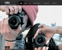 Free WordPress Theme for Photographer