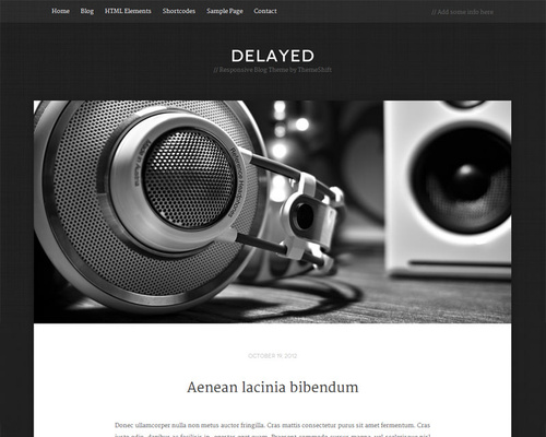 Minimalist Blog Theme
