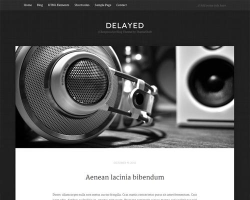Minimalist Blog Theme