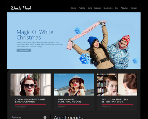 Fashion Pro WordPress Theme
