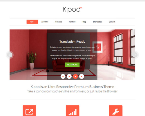 Elegant WordPress Template