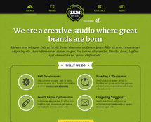 WordPress Creative Theme