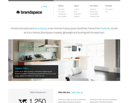 Cleancut WordPress Theme