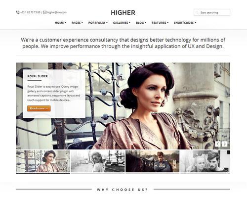 High Quality WordPress Theme
