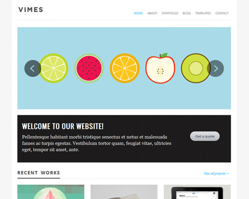 Simple Theme for WordPress