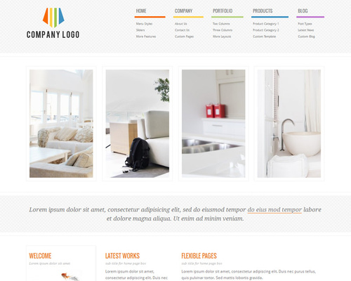 WordPress Clean Theme