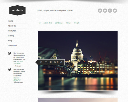 WP Photography Theme