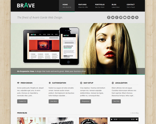 Design Agency WordPress Theme