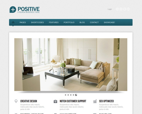 Multidesign WordPress Theme