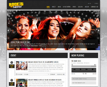 Music Band WordPress Theme