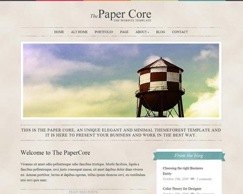 Elegant WordPress Blog Theme