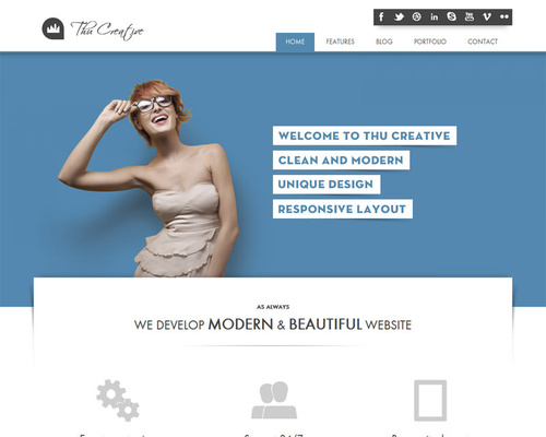 WordPress Modern Theme
