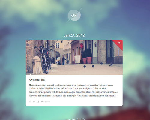 Cute WordPress Theme