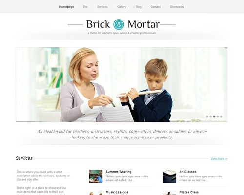WordPress Education Theme