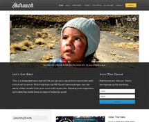 Responsive WordPress Charity Theme
