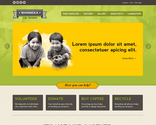 WordPress Themes for Charity Organizations