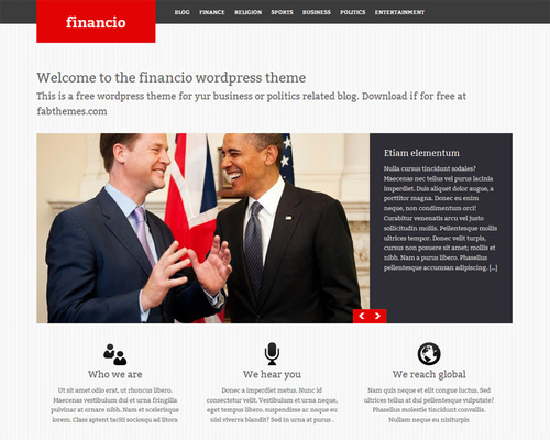 Financio government wordpress theme themeshaker government wordpress theme accmission Choice Image