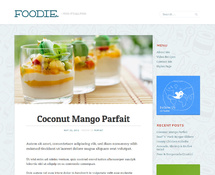 WordPress Food Blog