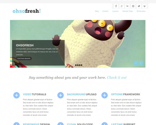 WordPress Free Portfolio Theme
