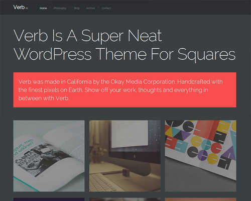 WordPress Designer Portfolio