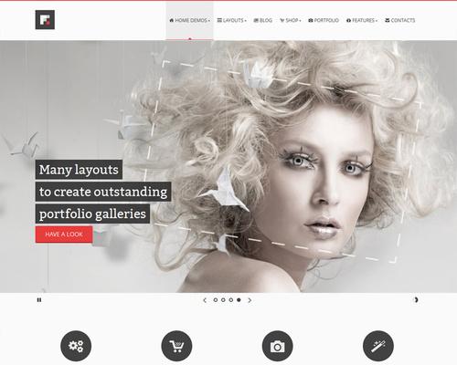 eCommerce Ready WordPress Theme
