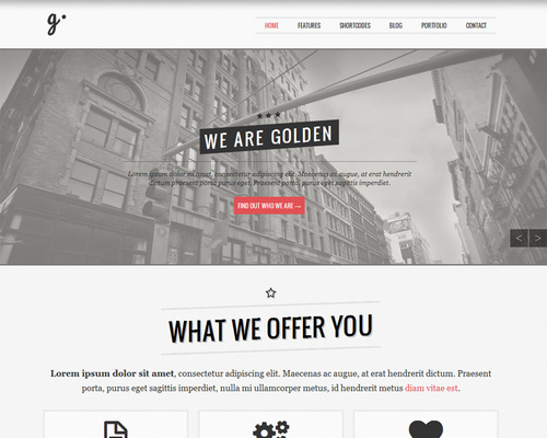 Vintage Theme for WordPress