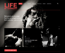 Musician WordPress Theme