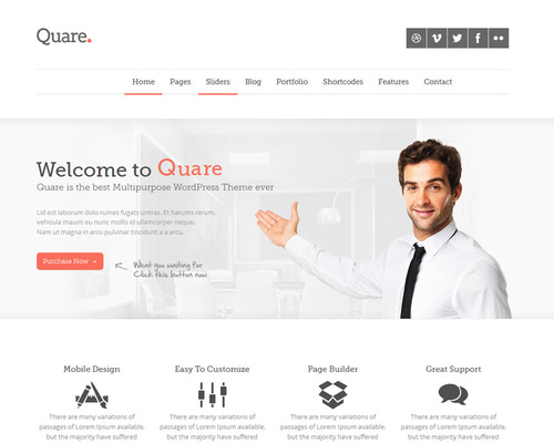Classic WordPress Business Theme