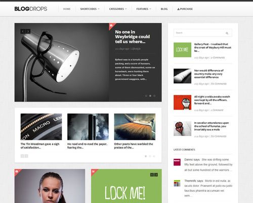 WordPress Responsive Magazine Theme