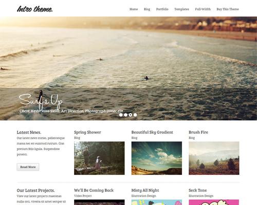 Personal Branding WordPress Theme