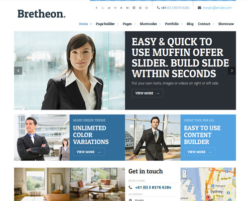 WordPress Theme for Company