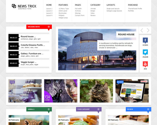 Premium News WordPress Theme