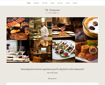 Responsive Restaurant WordPress Theme