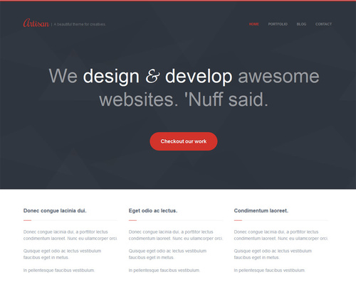 Simple WP Theme