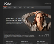 Dark Elegant WordPress Theme